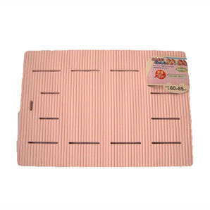 【T】脚付厚型 ラバースノコ ピンク