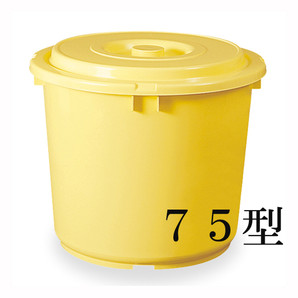 【T】トンボ つけもの容器(蓋・押蓋付)75型
