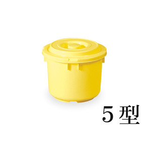 【T】トンボ つけもの容器(蓋・押蓋付)5型