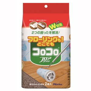 【T】NEWスペアテープフロアクリン 2巻入