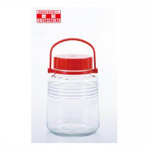 貯蔵瓶A型3L(4号) レッド