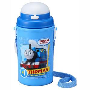 きかんしゃトーマス ストロー付き水筒(保冷タイプ)