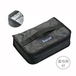 【T】1段用保冷ランチバッグ ブラック