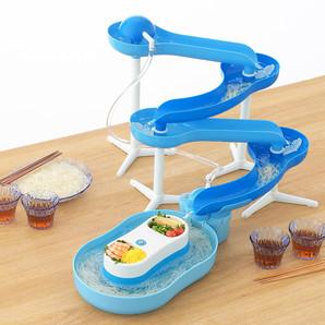 【TS】流麺 スライダーそうめん流し器 ブルー