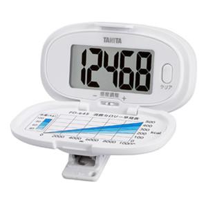 【T】歩数計 PD-645 ホワイト