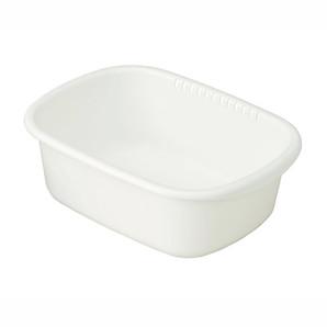 【T】クッキンパル 洗い桶小判型 エージーホワイト