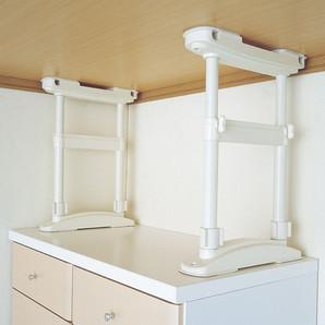 【T】家具転倒防止圧着Wポール  Lサイズ