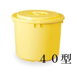 【T】トンボ つけもの容器(蓋・押蓋付)40型