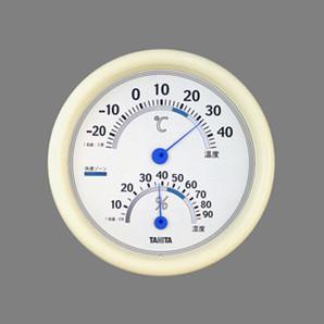 【T】温度計 温湿度計 TT-513 ホワイト