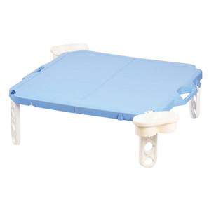 【T】ピクジェネ ハンディーテーブル63×63cm ブルー