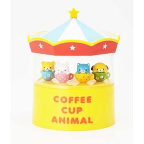 ピックケース アニマルコーヒーカップ
