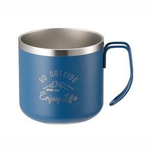モンテ ダブルステンレスマグカップ350 ブルー