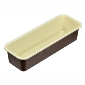 【T】ラフィネ ふっ素加工パウンドケーキ焼型25cm(底取れ式)