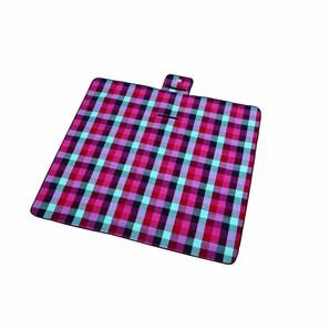 【T】起毛レジャーシート 170×170cm  ブルー・ピンク