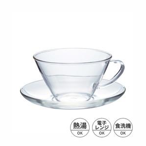 耐熱カップ&ソーサー・ワイド
