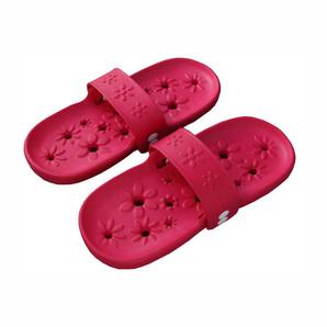 【T】両履きサンダルフルールM ピンク