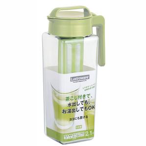 【T】タテヨコ・茶こし付スクエアピッチャー2.1 MC