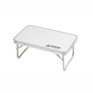 【T】ラフォーレアルミFDテーブル〈コンパクト〉56×34cm
