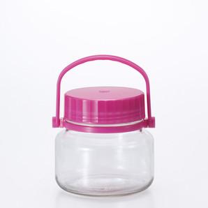アデリア果実酒びん1L ピンク
