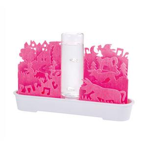 【T】自然気化式ECO加湿器 不思議な世界 ピンク