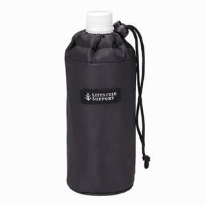ペットボトルカバー シンプル ブラック