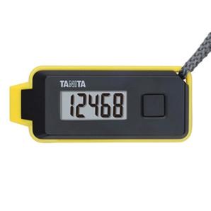 【T】緊急ホイッスル付き3Dセンサー搭載歩数計「歩イッスル」 FB-738 ブラック