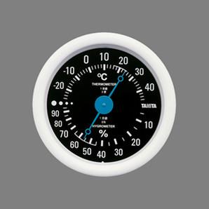 温度計 温湿度計 TT-515 ブラック