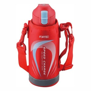 【数量限定】フォルテック・スピード ワンタッチ栓ダイレクトボトル0.6L レッド
