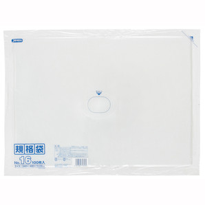 【T】LD 規格袋 16号 0.030mm厚  100枚 透明