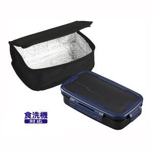 【数量限定】ロックフォー ランチボックス保冷バッグ付 ネイビー
