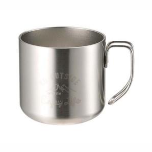 モンテ ダブルステンレスマグカップ350 シルバー
