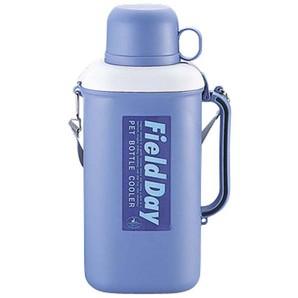 【T】抗菌ペットボトル用クーラー保冷剤付2.0L パープル
