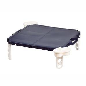 【T】ピクジェネ ハンディーテーブル63×63cm ネイビー
