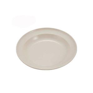 【T】サンサンマーチ 抗菌丸型カレー皿22cm