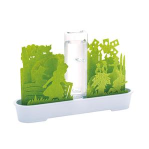 【T】自然気化式ECO加湿器 不思議な世界 グリーン