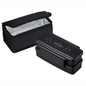 インディビュアルスタイル ランチボックス2段保冷バック付