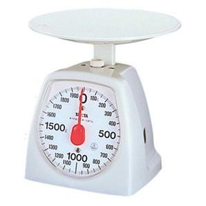 【T】アナログクッキングスケール 1439 2kg ホワイト