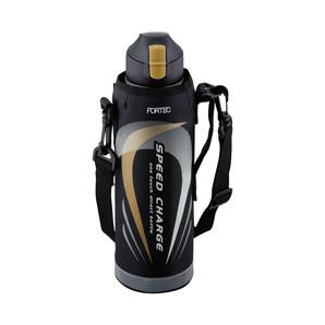 【販売終了】フォルテック・スピード ワンタッチ栓ダイレクトボトル1.0L ブラック