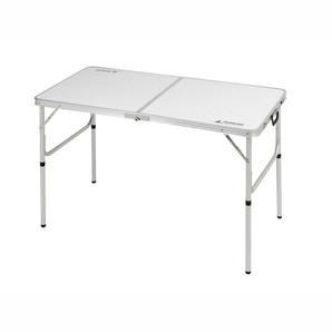 【T】ラフォーレアルミツーウェイテーブル(アジャスター付)M 120X60cm