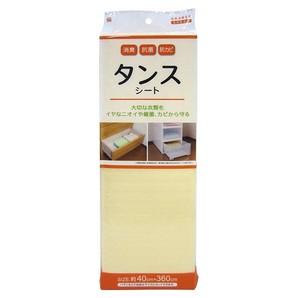 【T】消臭・抗菌・防カビ タンスシート 無地 Be