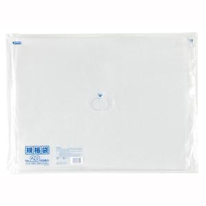 【T】LD 規格袋 20号 0.030mm厚  100枚 透明