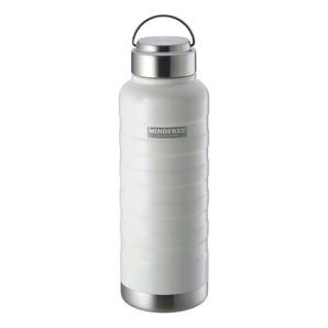 【T】MINDFREE 【マインドフリー】 ステンレスボトル 1000ml ホワイト