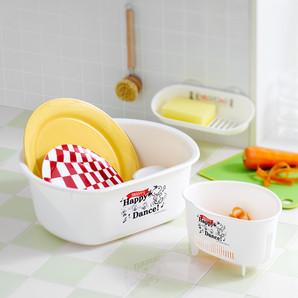 【販売終了】スヌーピー タワシラック/三角コーナー(S)/洗い桶D型 3点セット