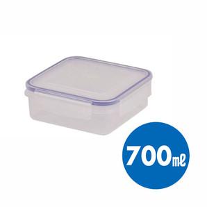 【T】キープロック 鮮度を保つ保存容器正方形700ml